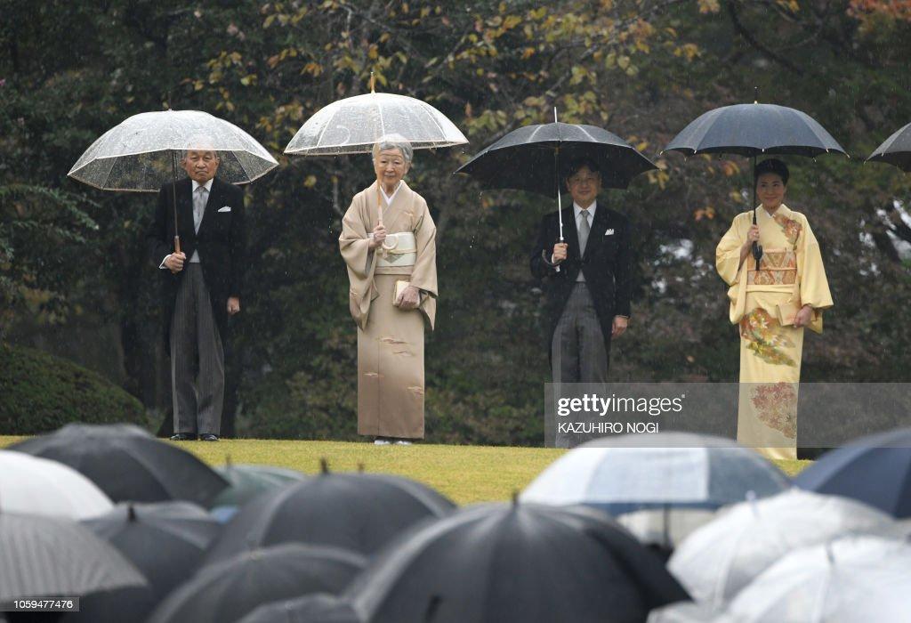 TOPSHOT-JAPAN-ROYALS : News Photo