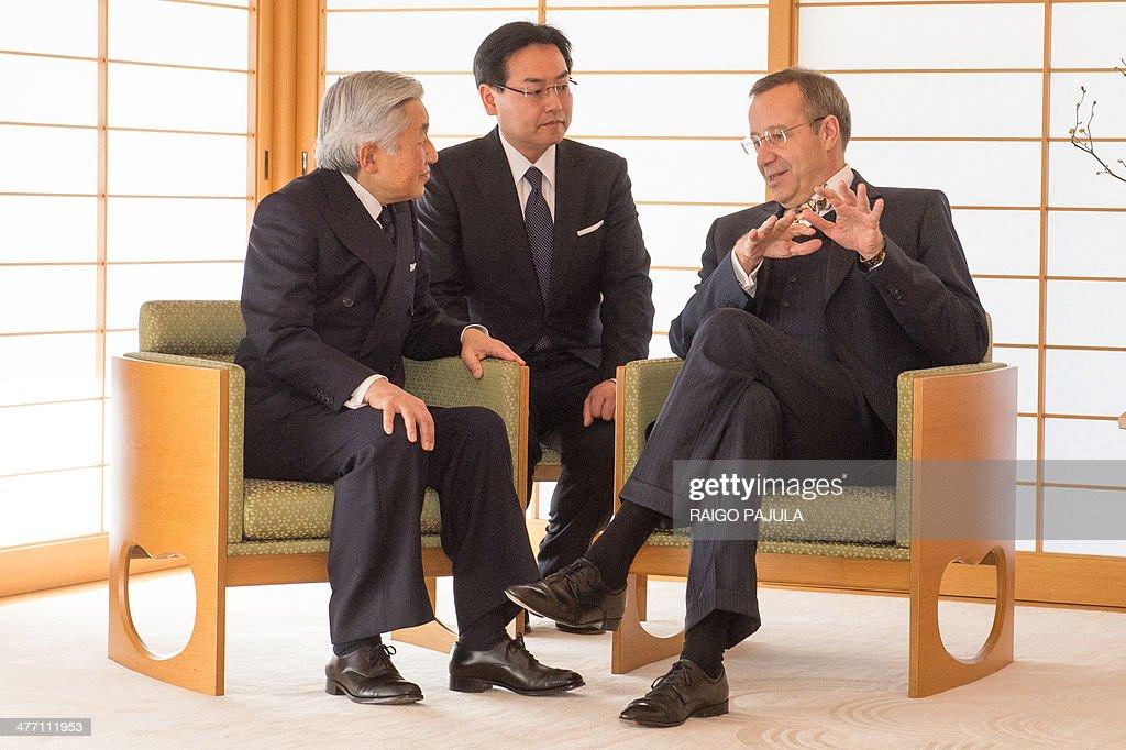 JAPAN-ESTONIA-DIPLOMACY : News Photo