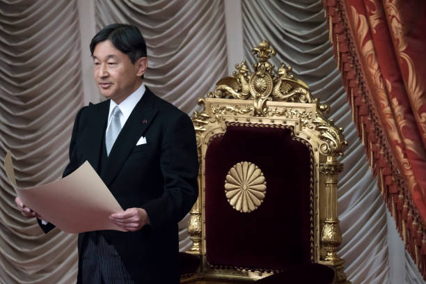 JPN: Japanese Emperor Naruhito Opens The National Diet Session