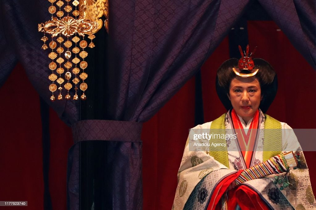 Enthronement Ceremony of Japanese Emperor Naruhito : ニュース写真