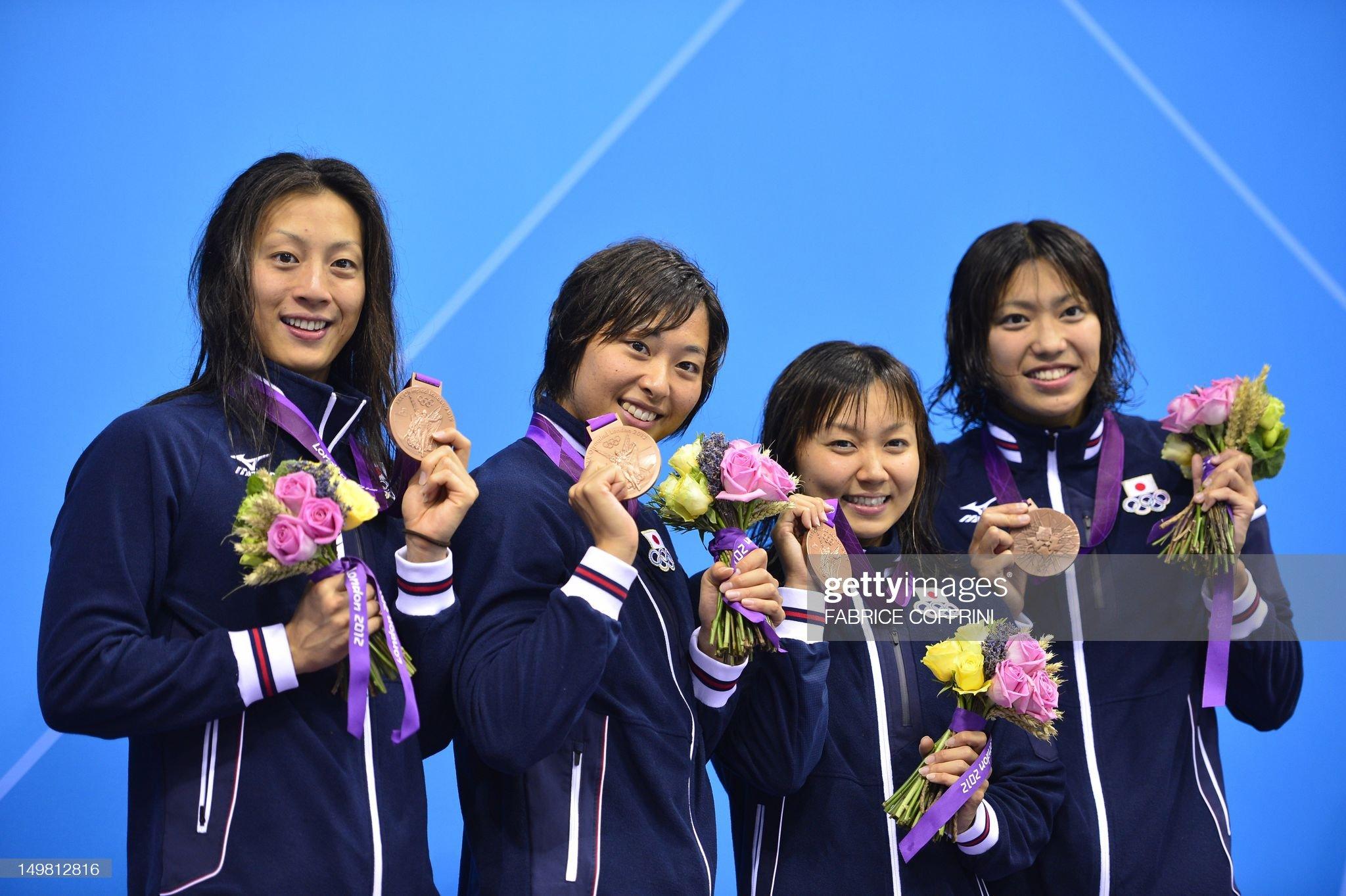 Japan's Haruka Ueda, Yuka Kato, Satomi S : Fotografía de noticias