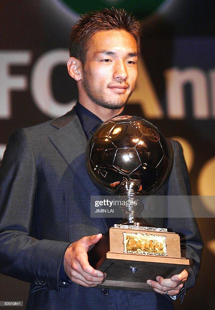 Risultati immagini per Hidetoshi Nakata Asian player of the year