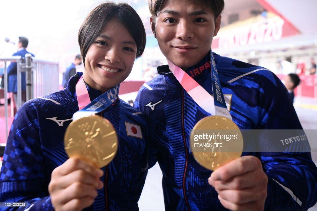TOPSHOT-JUDO-OLY-2020-2021-TOKYO : Nachrichtenfoto