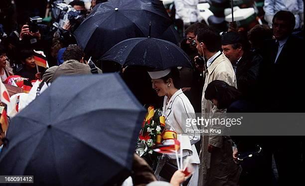 Japans Kaiser Akihito Kaiserin Michiko Besuchen Deutschland