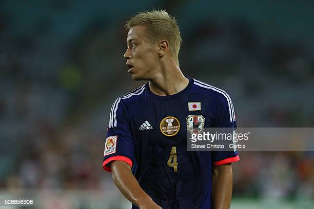 Japan's Keisuke Honda during the match at Stadium Australia Sydney Australia Friday 23rd January 2015