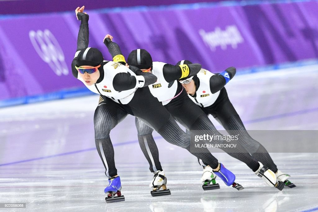 SSKATING-OLY-2018-PYEONGCHANG : News Photo
