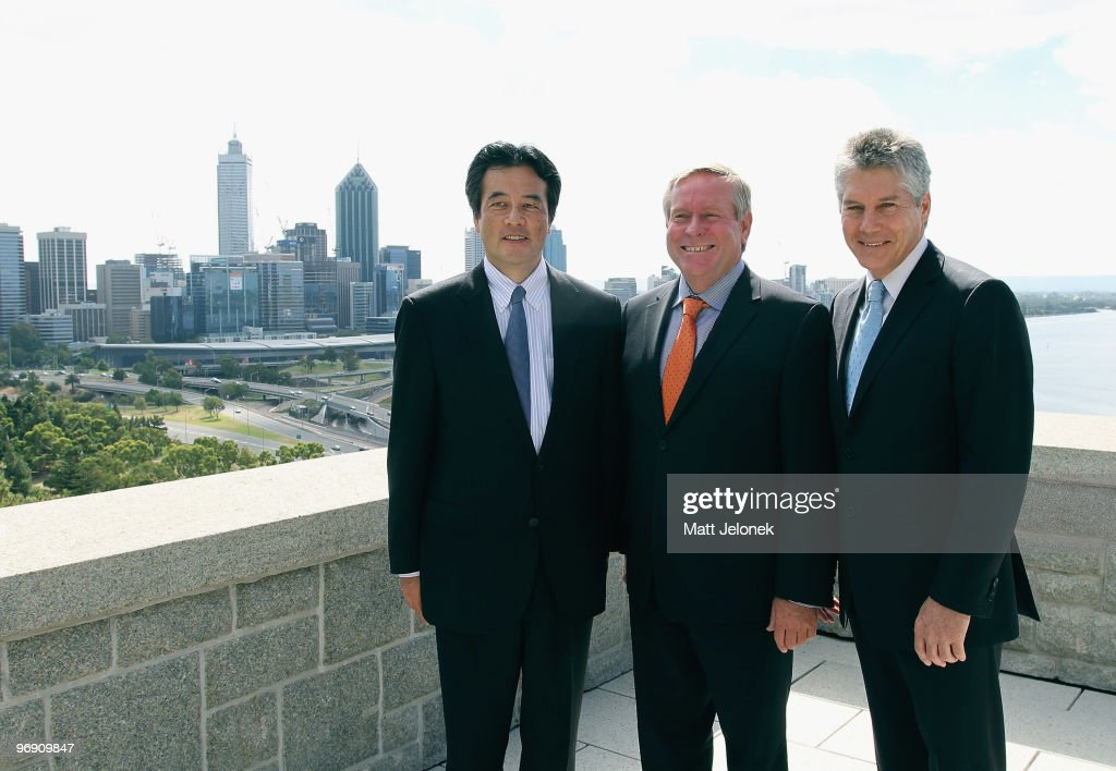 Japan's Minister For Foreign Affairs Visits Australia - Day 2