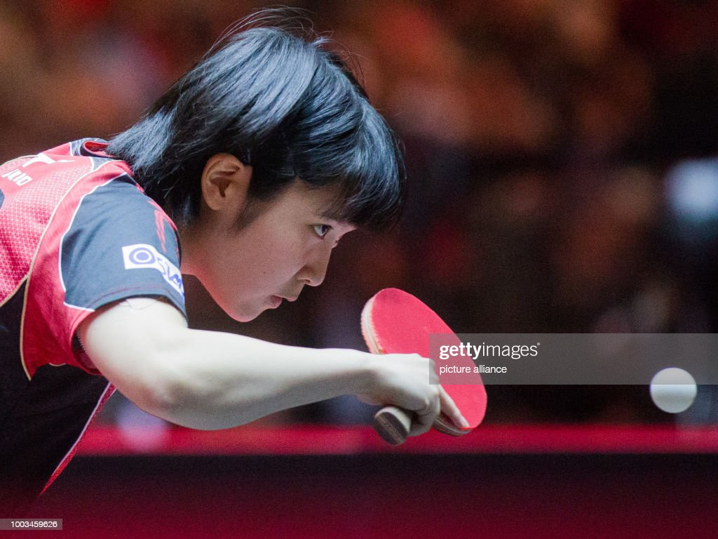 Table Tennis World Championships in Duesseldorf : ニュース写真
