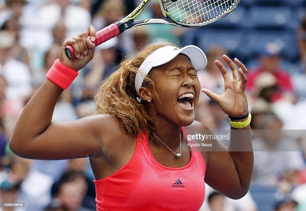 Kyodo News - US Open : News Photo