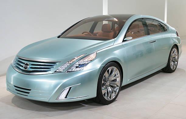 Japans Nissan Motor Unveils Its Concept Pictures Getty Images