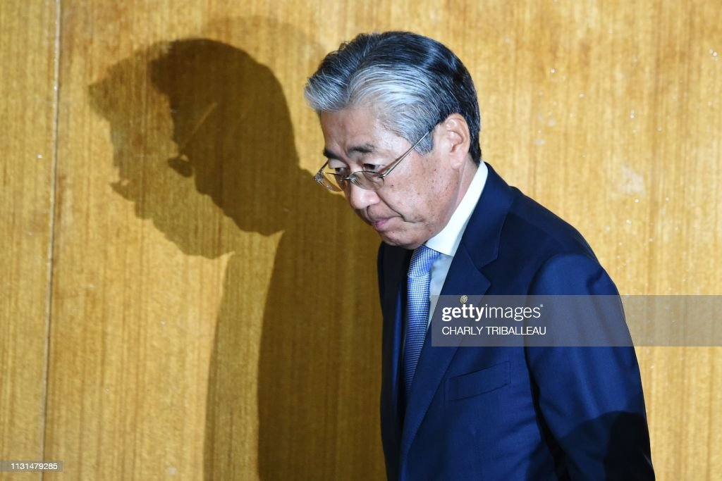 JPN: Japan Olympic chief facing corruption probe to step down