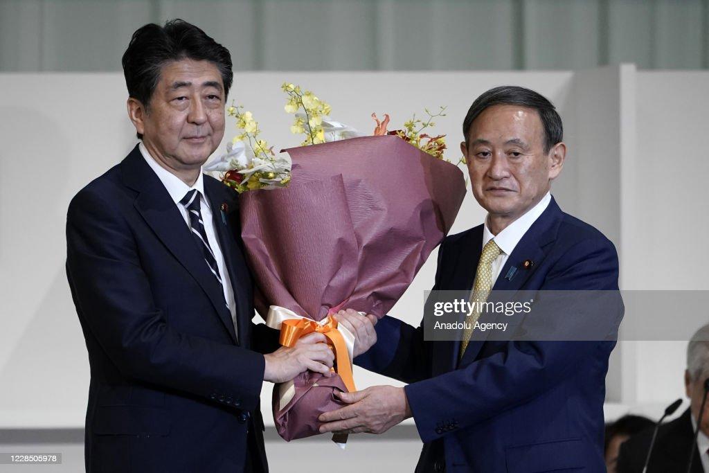 Japan LDP Leadership Vote : Nieuwsfoto's
