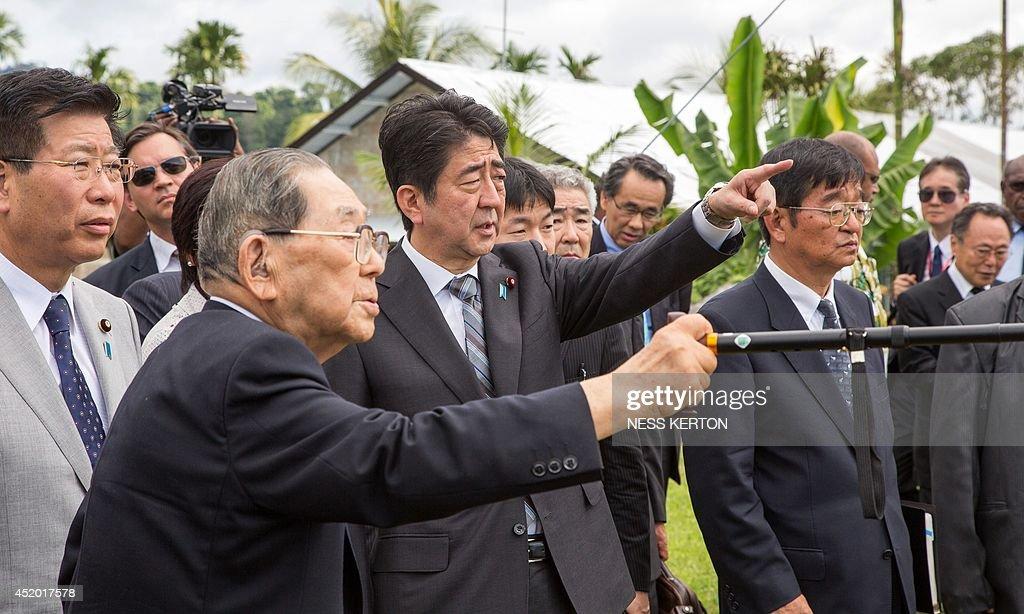 PNG-JAPAN-DIPLOMACY : Fotografía de noticias