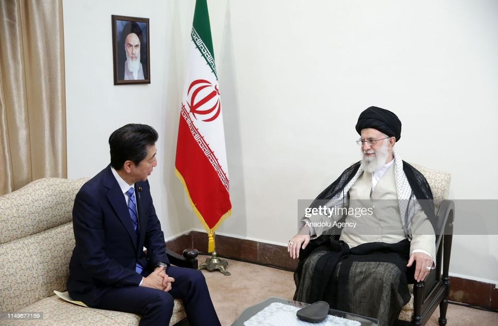 Japan's PM Shinzo Abe in Iran : News Photo