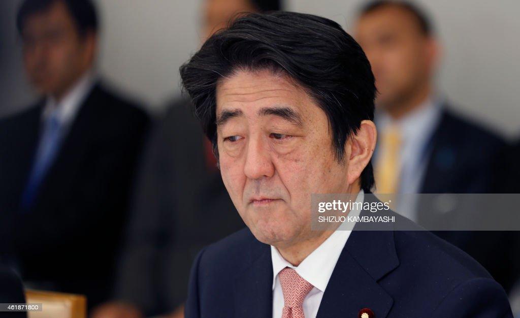 JAPAN-IRAQ-SYRIA-CONFLICT-US-HOSTAGE : News Photo