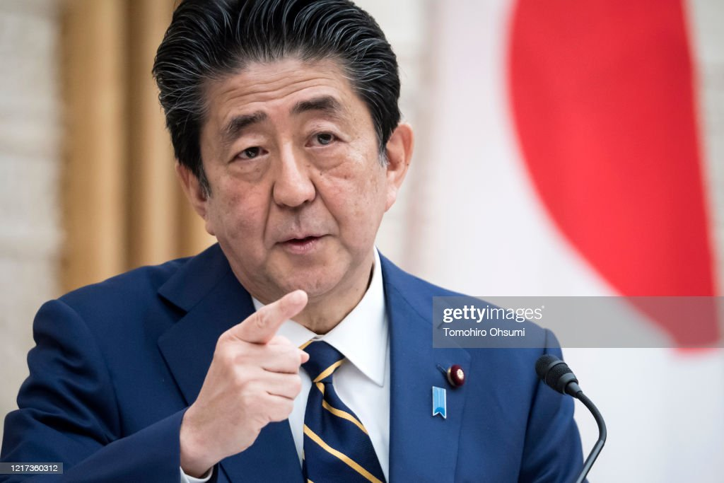 Japan Imposes State Of Emergency To Contain The Coronavirus Pandemic : ニュース写真