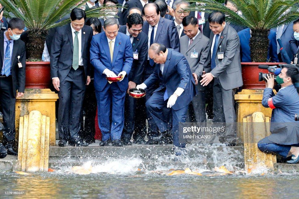 VIETNAM-JAPAN-DIPLOMACY : News Photo