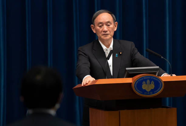 JPN: Japan's Prime Minister Holds Press Conference To Announce Extension To State Of Emergency