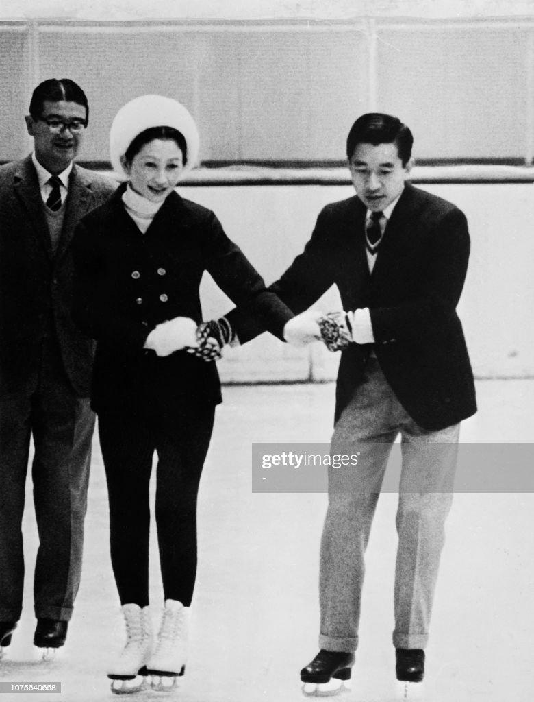 JAPAN-OLY-IMPERIALS-AKIHITO-MICHIKO : News Photo