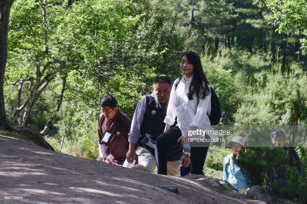 BHUTAN-JAPAN-ROYALTY-DIPLOMACY : News Photo