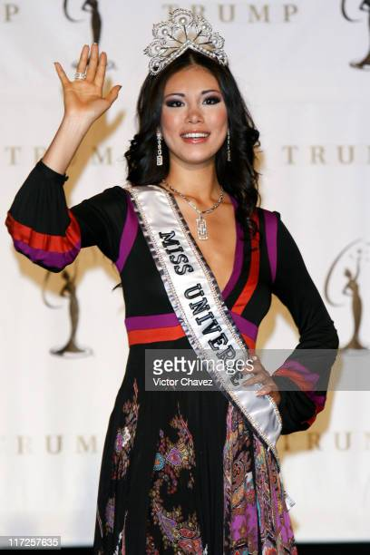 Japan's Riyo Mori winner of the Miss Universe 2007 pageant
