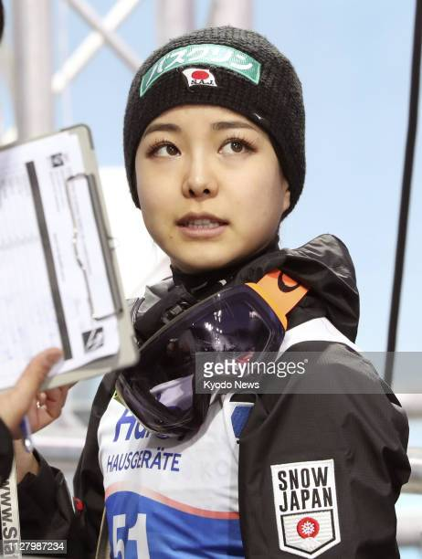 Japan's Sara Takanashi settles for sixth in the women's individual ski jumping competition of the Nordic world ski championships in Seefeld Austria...