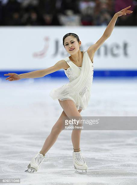 Japan's Satoko Miyahara performs in the free skate during the Grand Prix Final in Marseille on Dec 10 2016 Rewriting her personal best total of 21833...