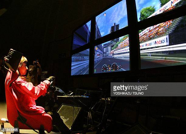 Japan's Sony Computer Entertainment unveils the new driving and racing simulation software Gran Turismo3 Aspec in Tokyo 17 April 2001 The new...