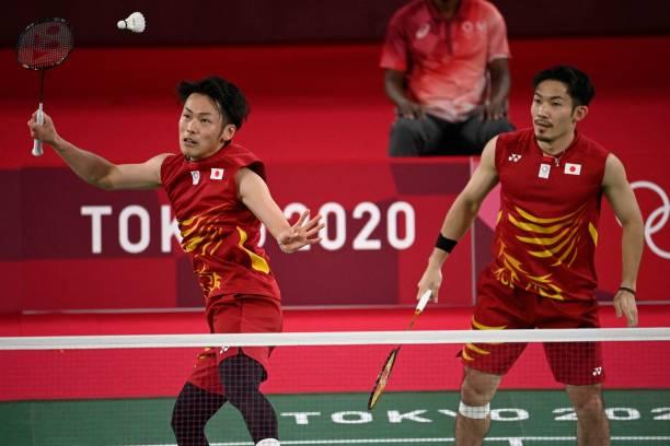 JPN: Badminton - Olympics: Day 3