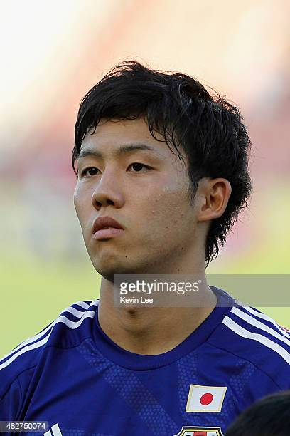 Japan's Wataru Endo poses for a picture before the match against DPR Korea during EAFF East Asian Cup 2015 final round on August 2 2015 in Wuhan China