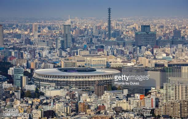 Japan,Tokyo City, Olympic stadium.