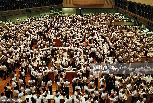 japan,tokyo stock exchange - bull market stock pictures, royalty-free photos & images