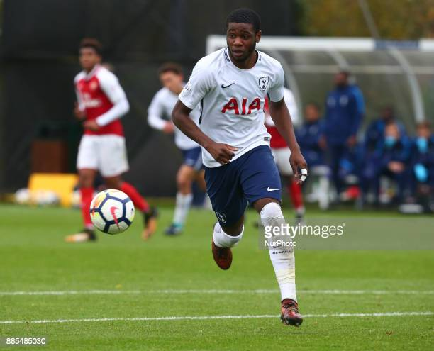 Japhet Tanganga of Tottenham Hotspur during Premier League 2 Div 1 match between Tottenham Hotspur Under 23s against Arsenal Under 23s at Tottenham...