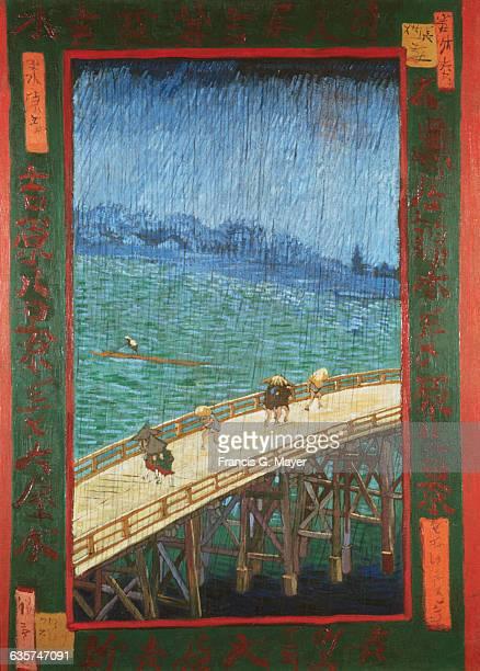 The Bridge in the Rain by Vincent van Gogh