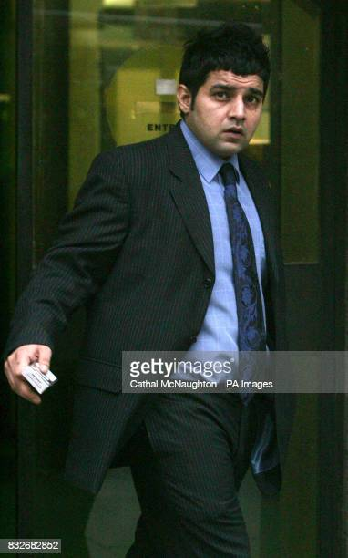 Jaqjit Dhillon leaves the Old Bailey where he is on trial for the murder of Kevin Danaher