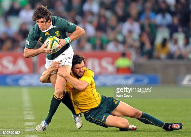 Jaque Fourie / Adam Ashley Cooper Afrique du Sud / Australie Tri Nations Bloemfontein
