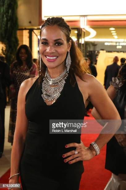 Jaqueline Fleming arrives at the 2017 HAPAwards at Alex Theatre on November 18 2017 in Glendale California