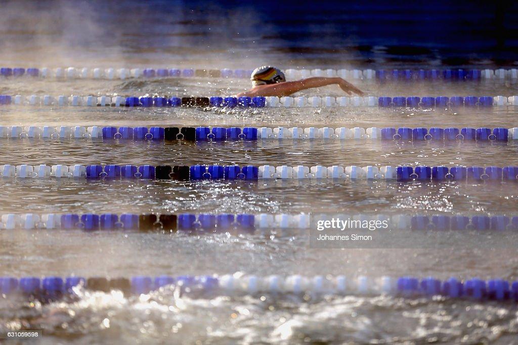 Ice Swimming Aqua Sphere World Championships : News Photo