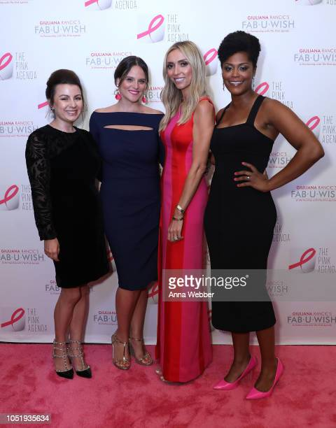 Jaquelyn M Scharnick Liana M Douillet Guzman Giuliana Rancic and Marisa Renee Lee attends The Pink Agenda's Annual Gala at Tribeca Rooftop on October...