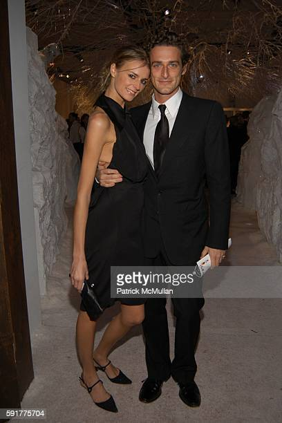 Jaquetta Wheeler and Alexi Lubomirski attend 'SEVENTH ON SALE' Benefit For HIV/AIDS at Skylight Studios on November 10 2005 in New York City
