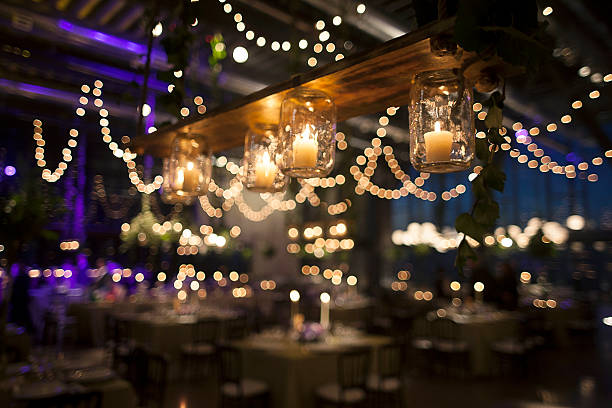 lit lights wedding productions lighting midsummer night get