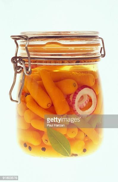 Jar of carrots