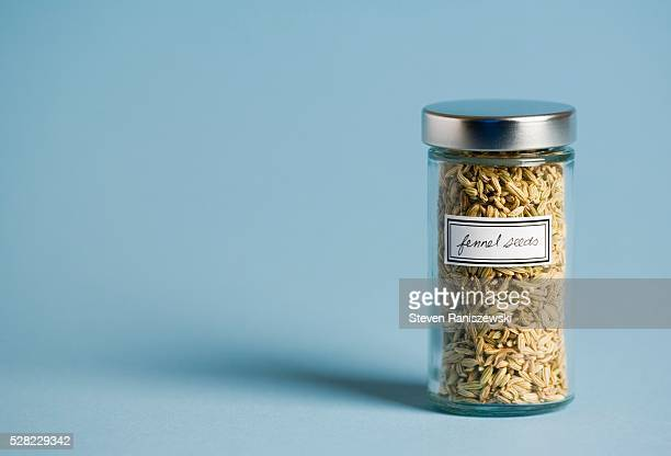 Jar of Fennel Seeds