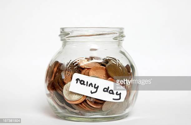 Pot de petite monnaie nécessaire pour un jour de pluie