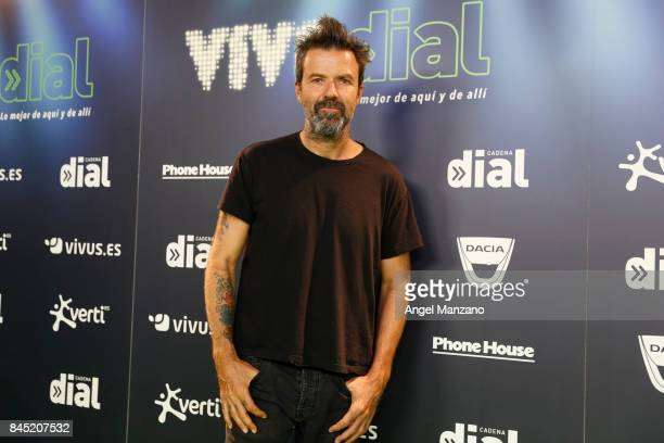 Jarabe de Palo Pau Dones attends during the Vive Dial festival photocall on September 9 2017 in Madrid Spain
