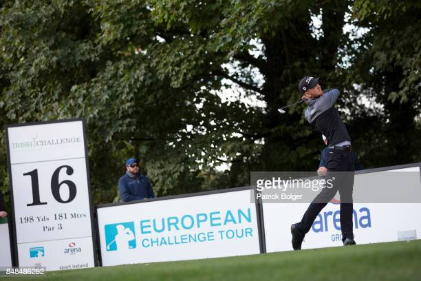 Jarand Ekeland Arnoy from Norway during the final round of the 2017 Irish Challenge at Mount Wolseley Hotel Spa and Golf Resort on September 17 2017...