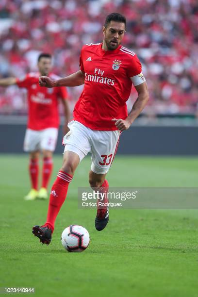 Jardel of SL Benfica during the Liga NOS match between SL Benfica and Sporting CP for the third round of Liga NOS at Estadio da Luz on August 25 2018...