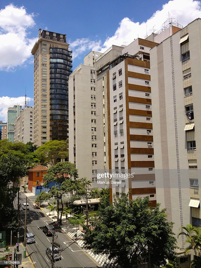 Jardim Paulista, Sao Paulo : Stock Photo
