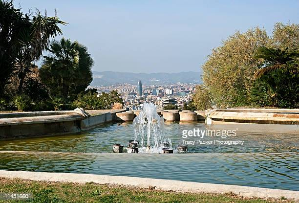 Montjuic stock photos and pictures getty images for Jardines joan brossa