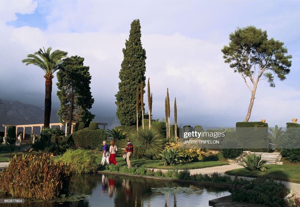 jardin de la Villa Ephrussi de Rothschild Saint-Jean-Cap ...